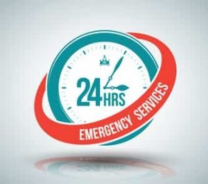 24 hours emergency services