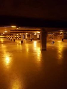 industrial electrician basement lighting